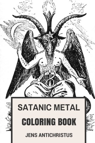 Satanic Metal Coloring BookNorwegian Black Metal and Antichrist Burzum Ins...