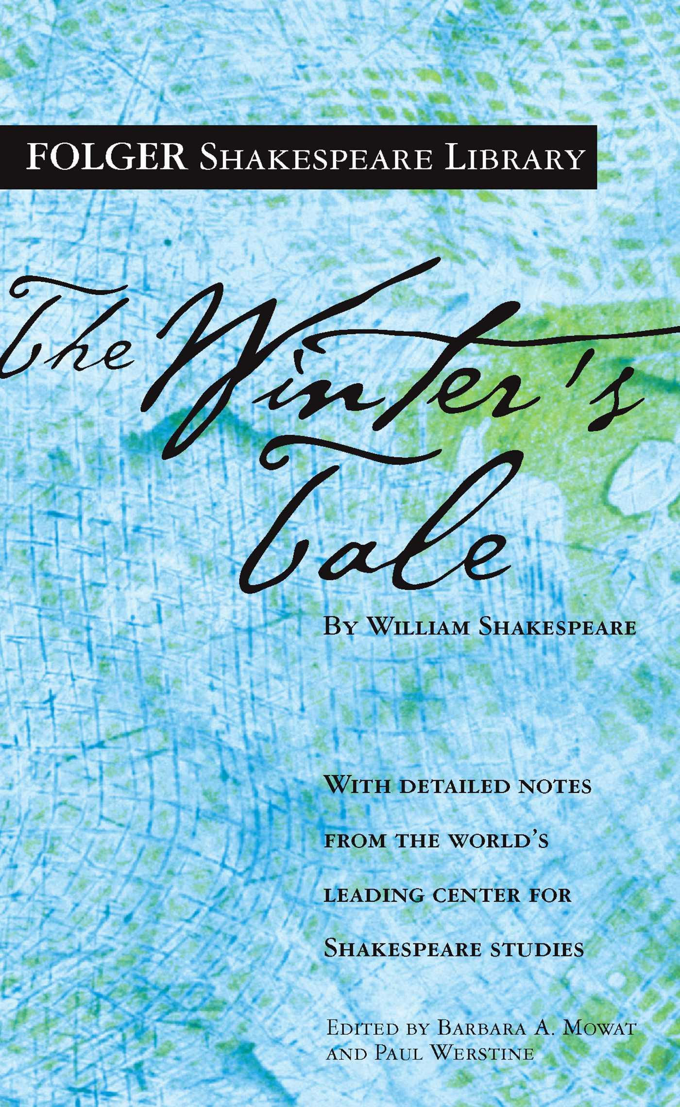The Winter's Tale by William Shakespeare, ISBN: 9781501136894