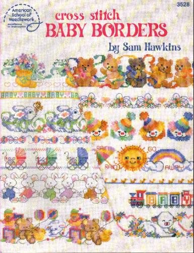 Cross Stitch Baby Borders