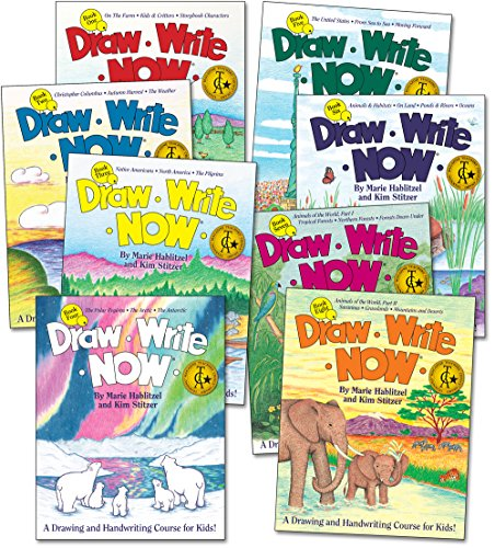 Draw Write Now Boxed Set of 8