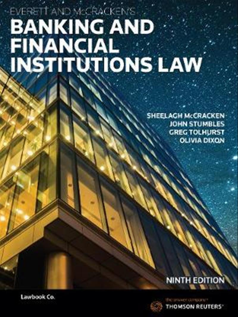 Banking & Financial Institutions Law 9th Edition