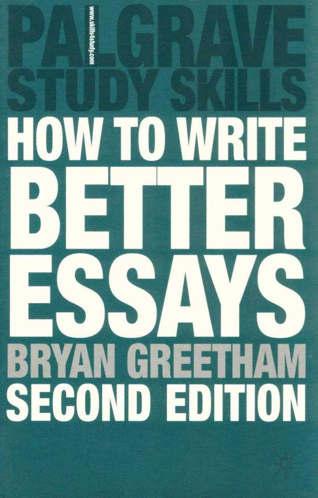 how to write better essays pdf Sample essay (800 words) for the assignment question and analysis, see sample essay 1  education means considerably more than just teaching a student to read, write, and.