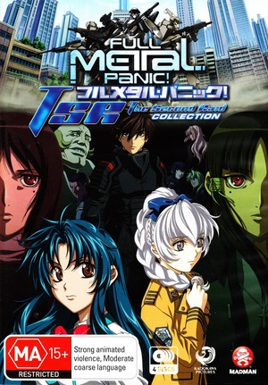 Full Metal Panic! - TSR: The Second Raid - Complete Collection (4 Disc Set)