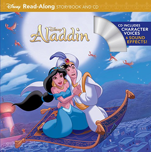 Aladdin Read-Along Storybook and CDRead-Along Storybook and CD