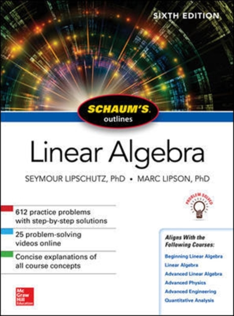 Schaum's Outline of Linear Algebra, Sixth EditionSchaum's Outlines