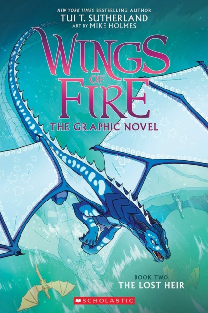 The Lost Heir (Wings of Fire Graphic Novel #2): A Graphix Book (Wings of Fire Graphix)