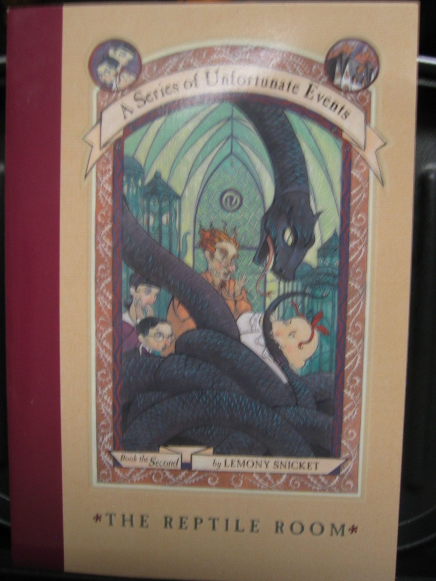The Reptile Room, a Series of Unfortunate Events Book the 2rd