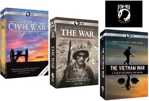 Ken Burns: The War Collection - The Civil War, The War, The Vietnam War