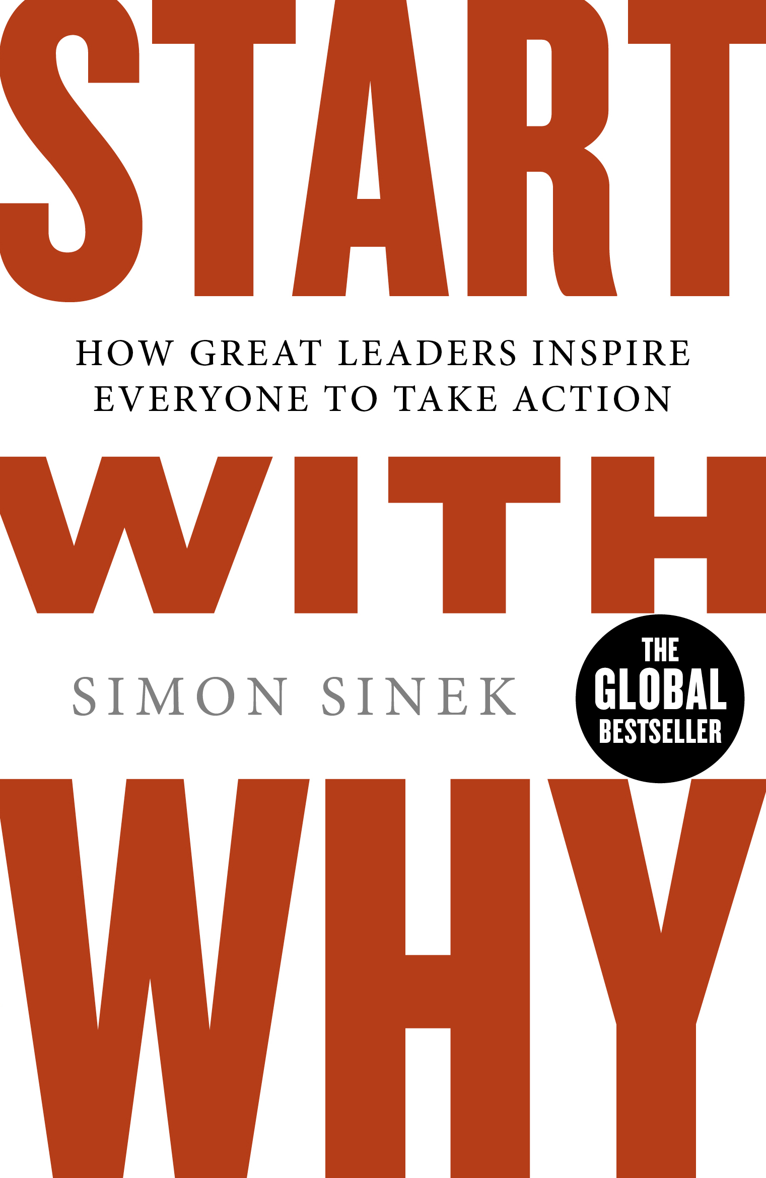 Start with Why by Simon Sinek, ISBN: 9780241958223