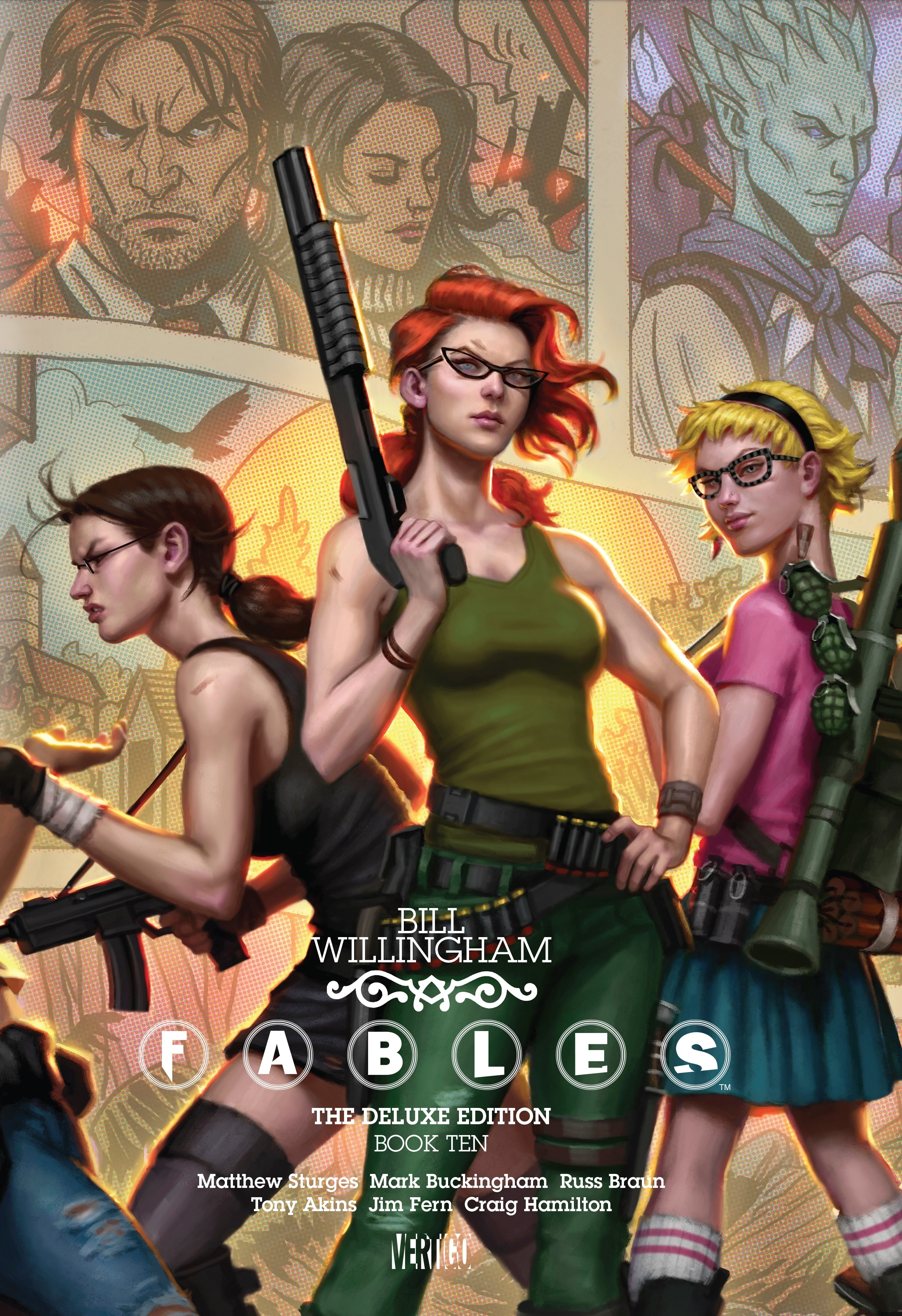 Fables The Deluxe Edition Book Ten