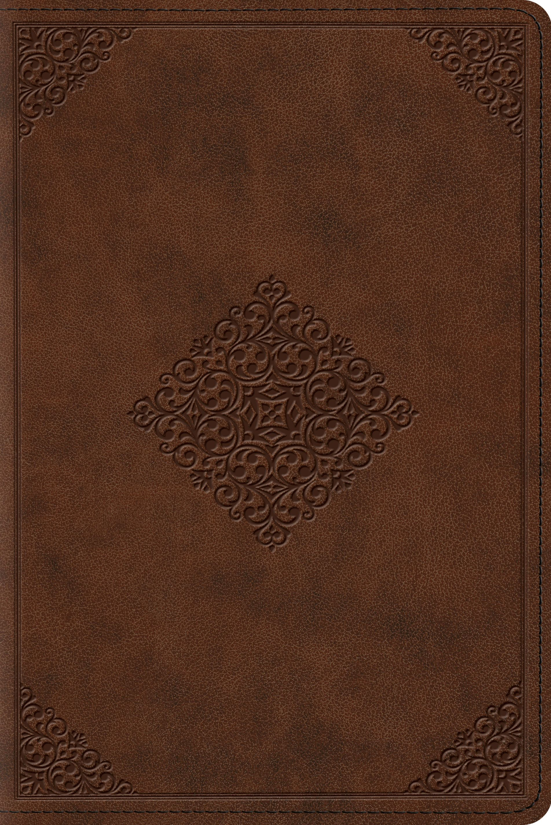 Study Bible-ESV-Personal Size Ornament Design by Crossway Books, ISBN: 9781433544071