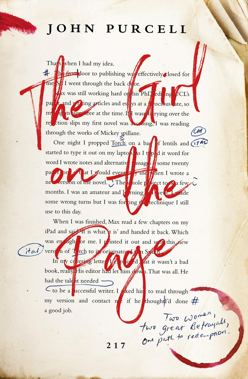 The Girl on the Page by John Purcell, ISBN: 9781460756973