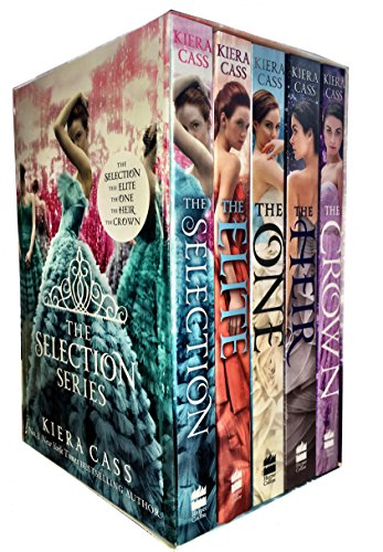 The Selection Series 1-5 Box Set: (The Selection, the Elite, the One, the Heir and the Crown) by Kiera Cass, ISBN: 9789526528328