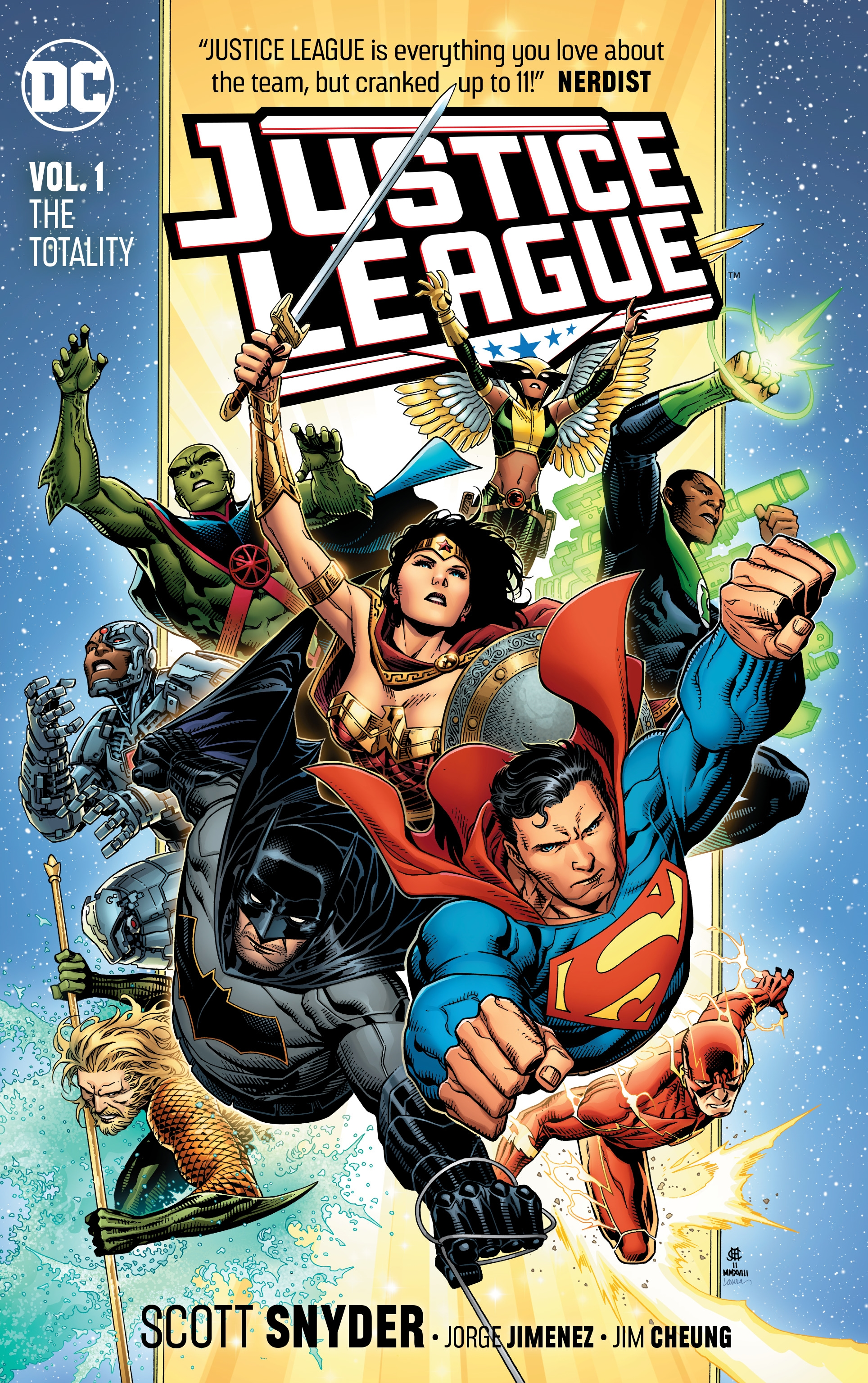 Justice League Vol. 1 by Scott Snyder, ISBN: 9781401284992