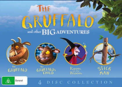 Magic Light BoxsetThe Gruffalo / The Gruffalo's Child /Room on th...