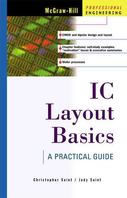 IC Layout Basics by Christopher Saint, ISBN: 9785551662075