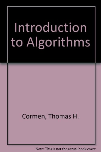 introduction to algorithms second edition Robert sedgewick department of an introduction to the analysis of algorithms, with philippe flajolet algorithms in c++ (second edition) recent talks.