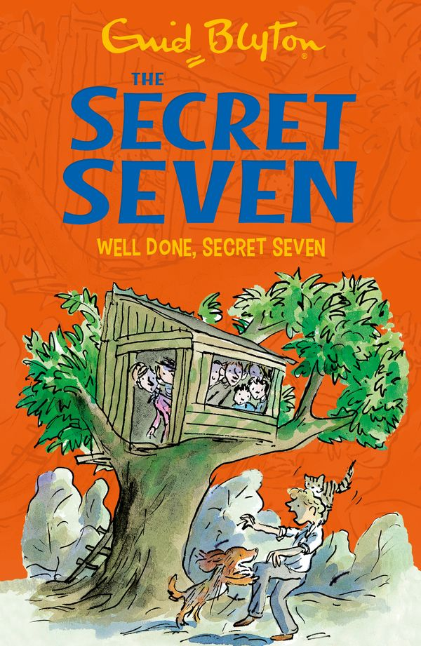 The Secret Seven Society was having its usual weekly meeting