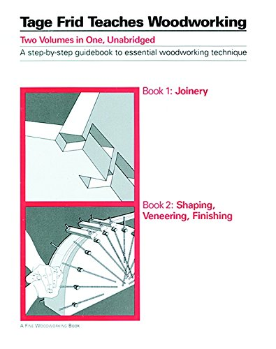 Tage Frid Teaches Woodworking: Shaping, Veneering, Finishing Bk. 2