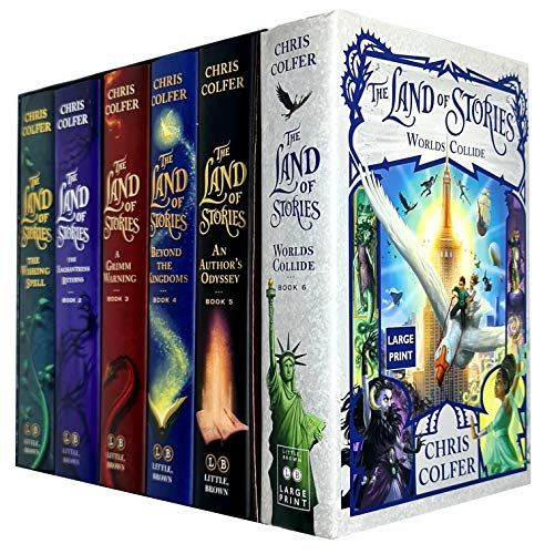 Chris Colfer the land of stories series complete collection box set (books 1-6)
