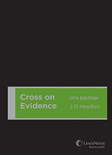 Cross on Evidence, 11th edition