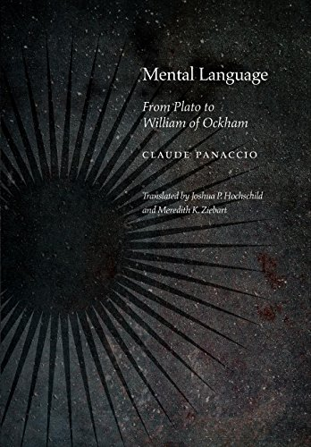 Mental LanguageFrom Plato to William of Ockham by Meredith K. Ziebart,Claude Panaccio,Joshua Hochschild, ISBN: 9780823272600