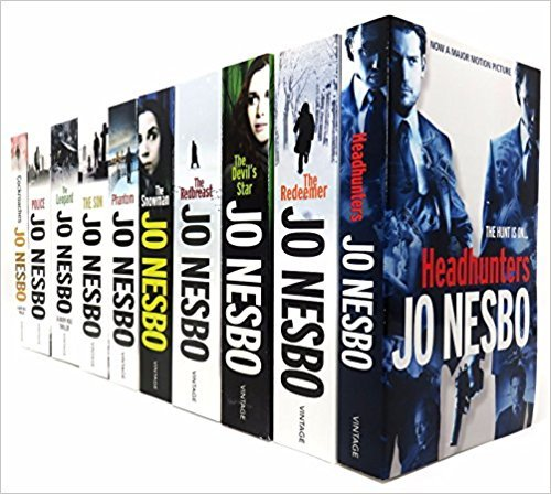 Jo Nesbo Harry Hole Thriller Collection 10 Books Set. Titles Includes: Police, Bat, Leopard, Phantom, Devil's Star, Cockroaches, Snowman, Redeemer, Nemesis and Red Breast by Jo Nesbo, ISBN: 9783200331082