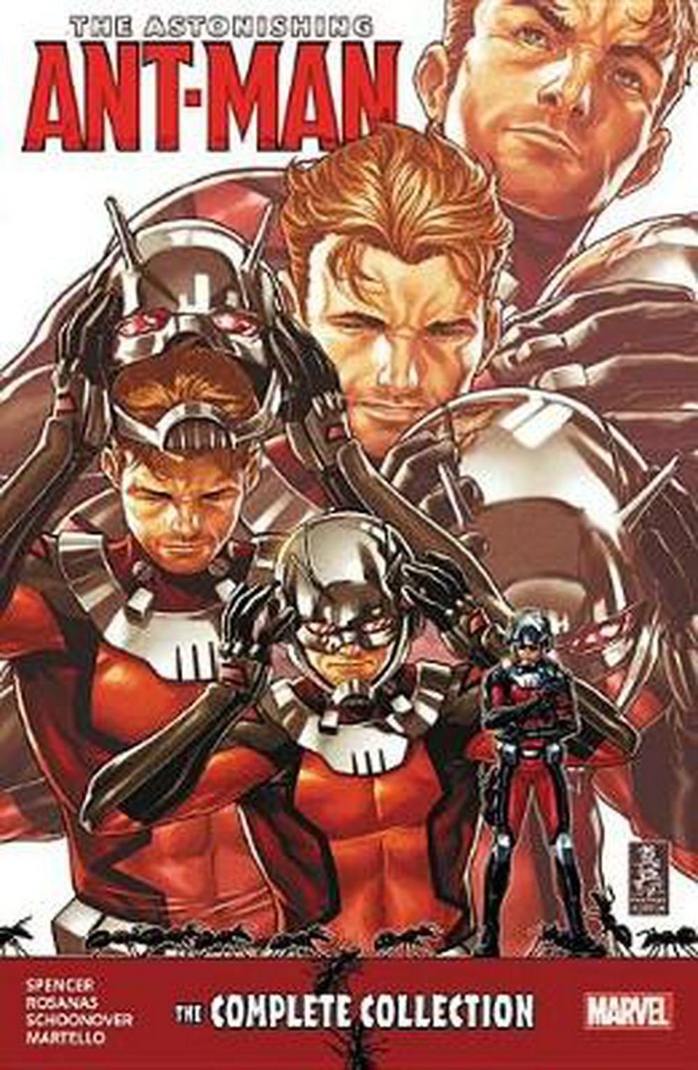 Astonishing Ant-Man: The Complete Collection by School of Postgraduate Medical Education and Department of Applied Social Studies Nick Spencer, ISBN: 9781302911324