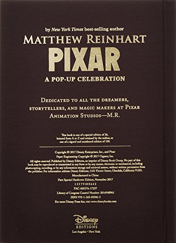 Disney*pixar (Limited Edition)A Pop-Up Celebration
