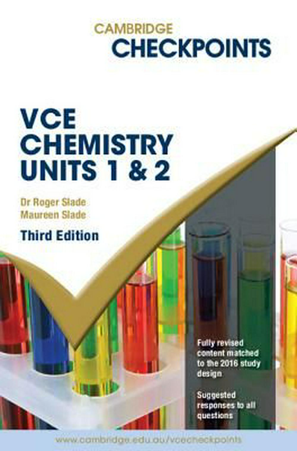 Cambridge Checkpoints VCE Chemistry Units 1 and 2Cambridge Checkpoints
