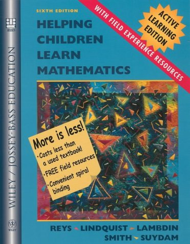 Helping Children Learn Mathematics: Active Learning Edition with Field Experience Resources
