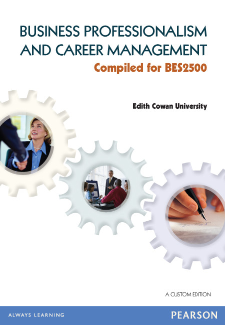 Business Professionalism and Career Management by Dwyer & Carlopio, ISBN: 9781486020317