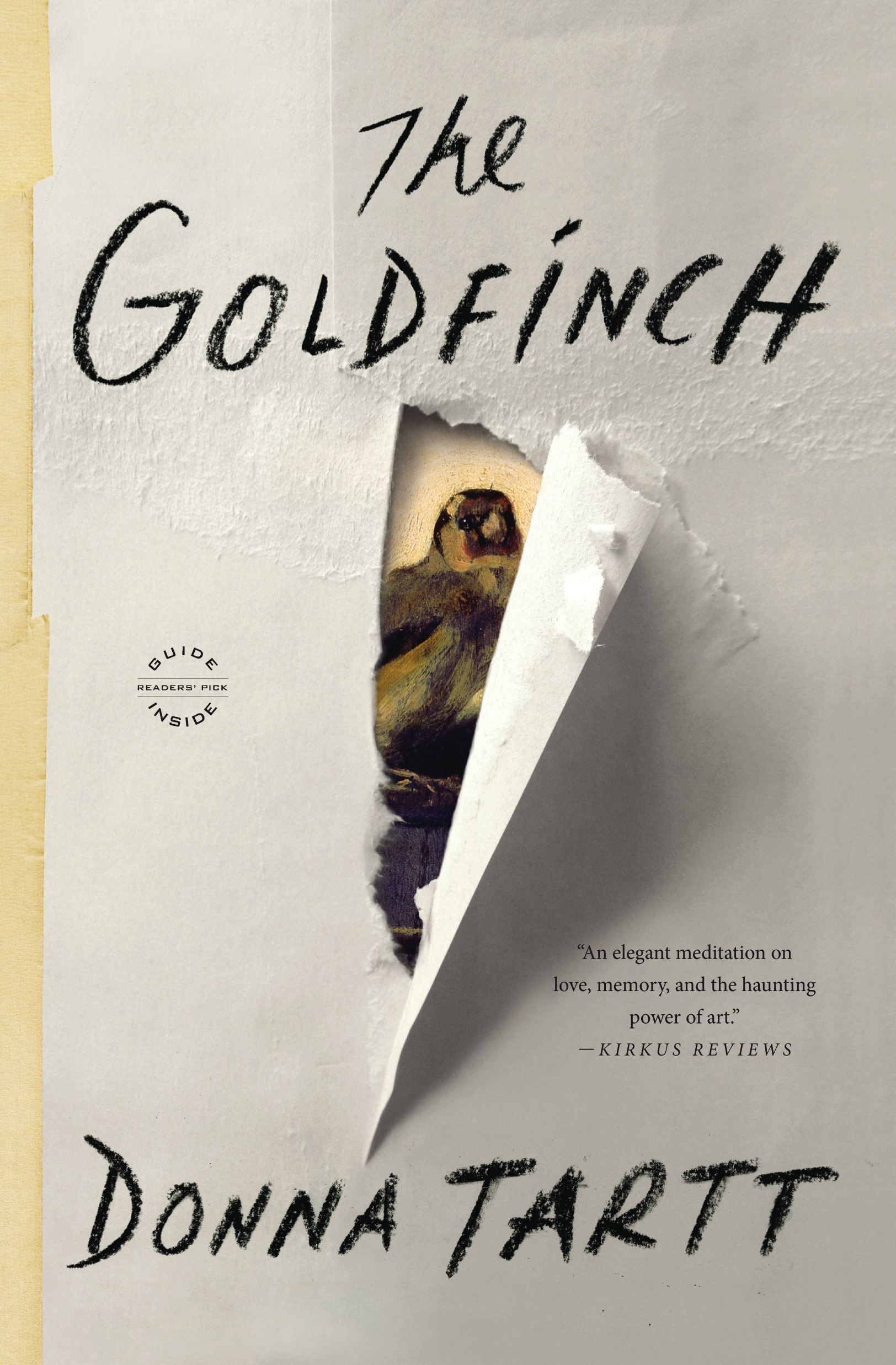 Cover Art for The Goldfinch, ISBN: 9780316055444