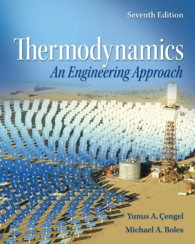Thermodynamics: An Engineering Approach 7/e SI Unit