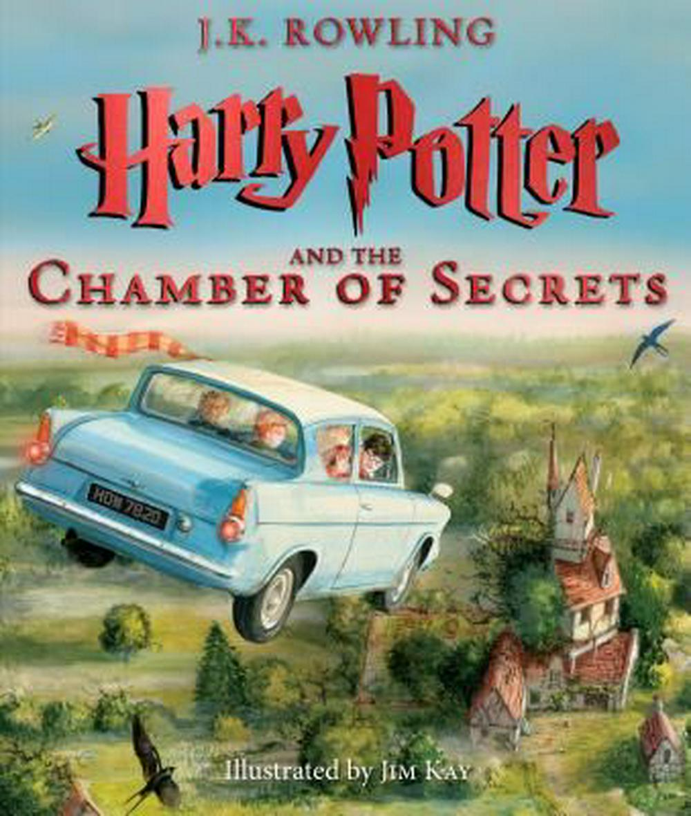 Harry Potter and the Chamber of SecretsThe Illustrated Edition (Harry Potter, Book 2)