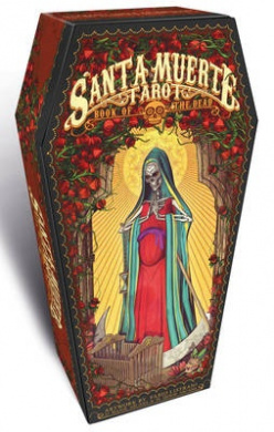 Santa Muerte Tarot: Limited Edition Coffin Box, 78 full colour cards and instructions by Fabio Listrani, ISBN: 9788865275054