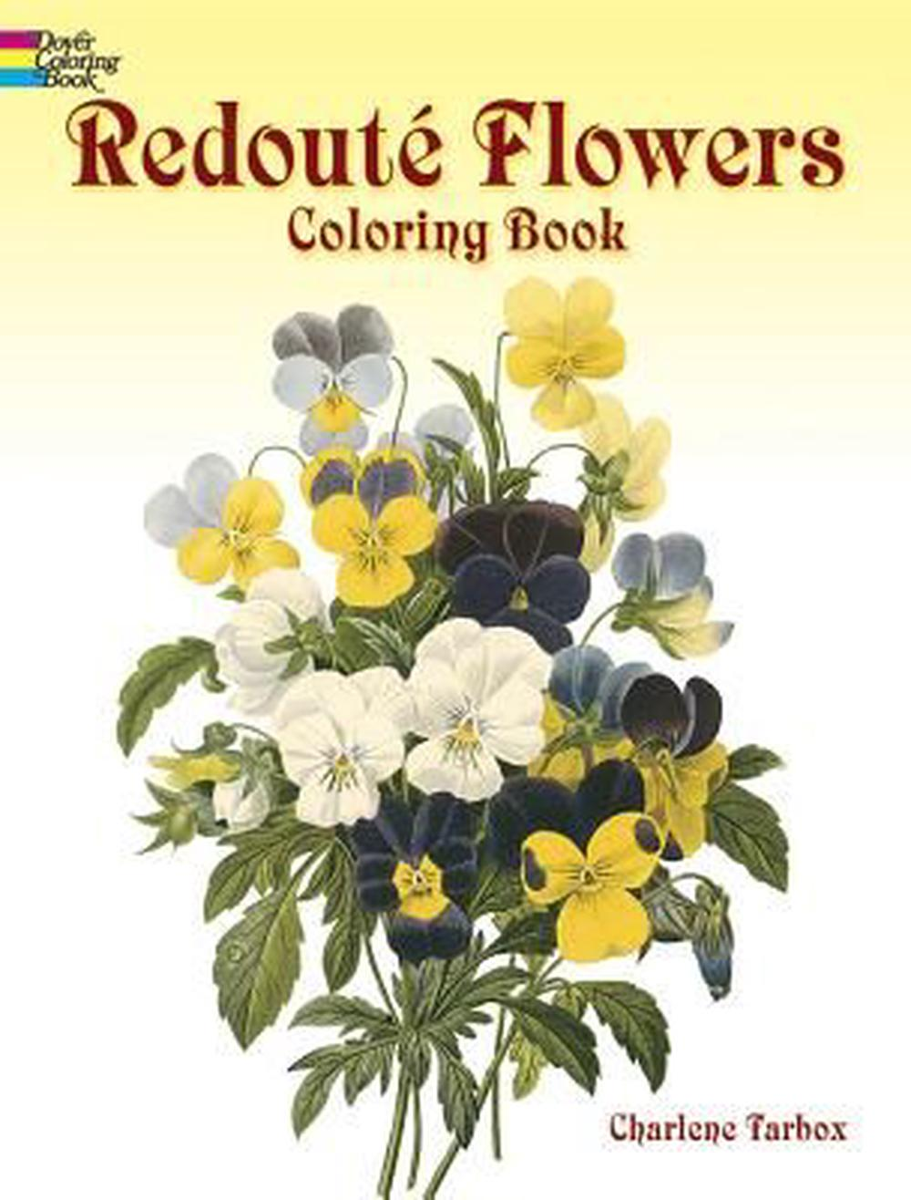 Redoute Roses Colouring Book