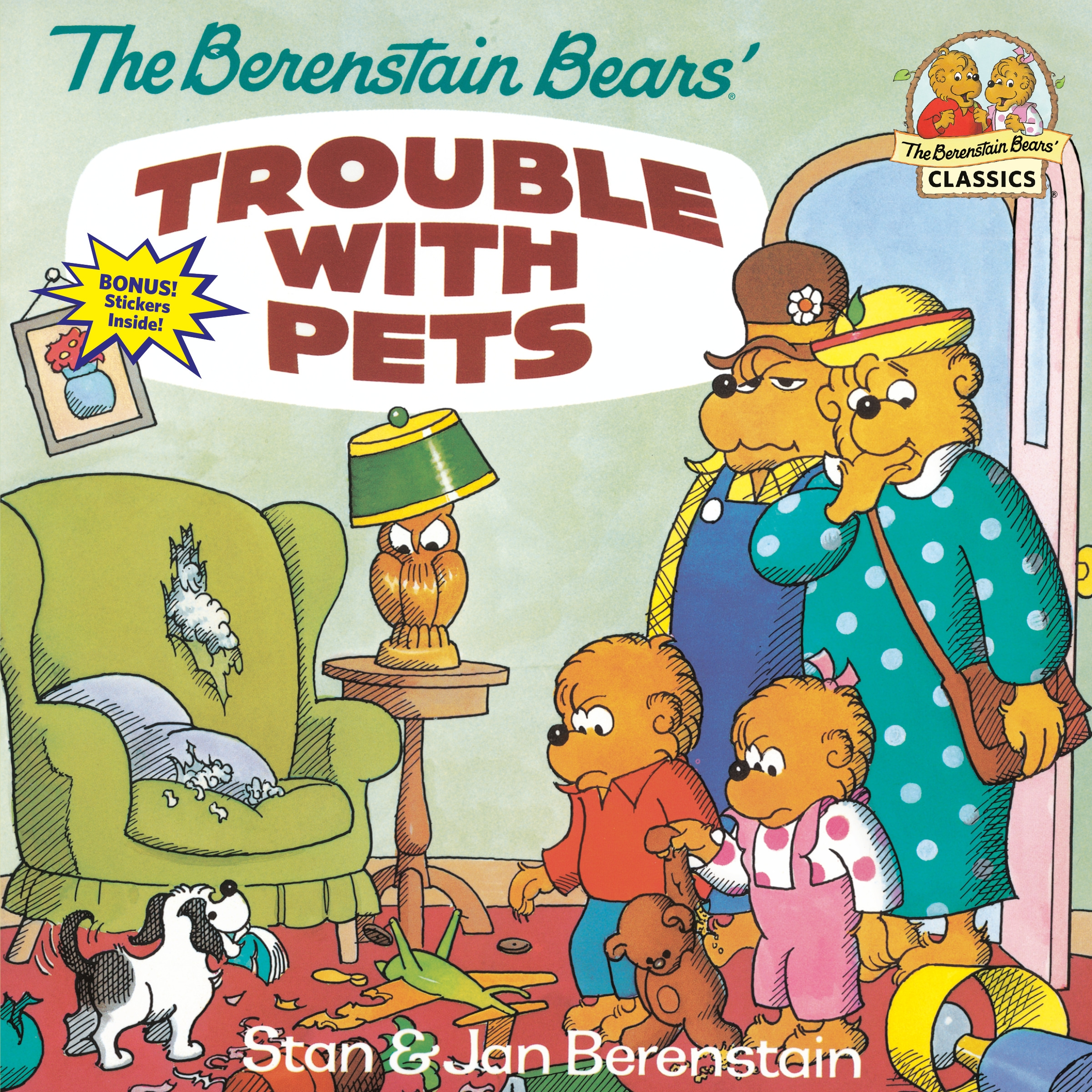 Berenstain Bears Trouble With Pets