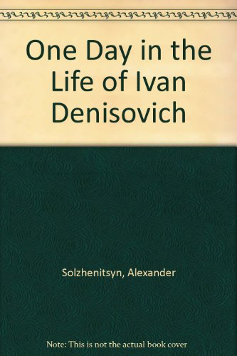an analysis of the struggle of prisoners in one day in the life of ivan denisovich by alexander solz Adaptation of aleksandr solzhenitsyn's classic novel released in 1970, the film faithfully presents a single day in the life of ivan denisovich - superbly.