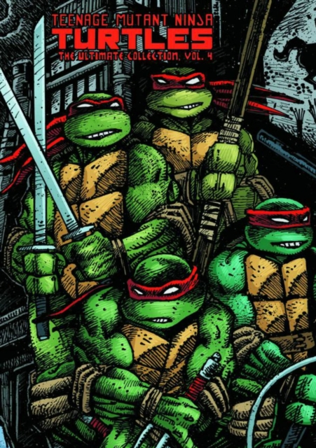Hardcover Published April 2013 By IDW Publishing Teenage Mutant Ninja Turtles Ultimate Collection Volume 4 Kevin B Eastman