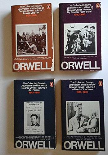 The Collected Essays, Journalism and Letters: An Age Like This, 1920-40 v. 1 by George Orwell, ISBN: 9780140031515