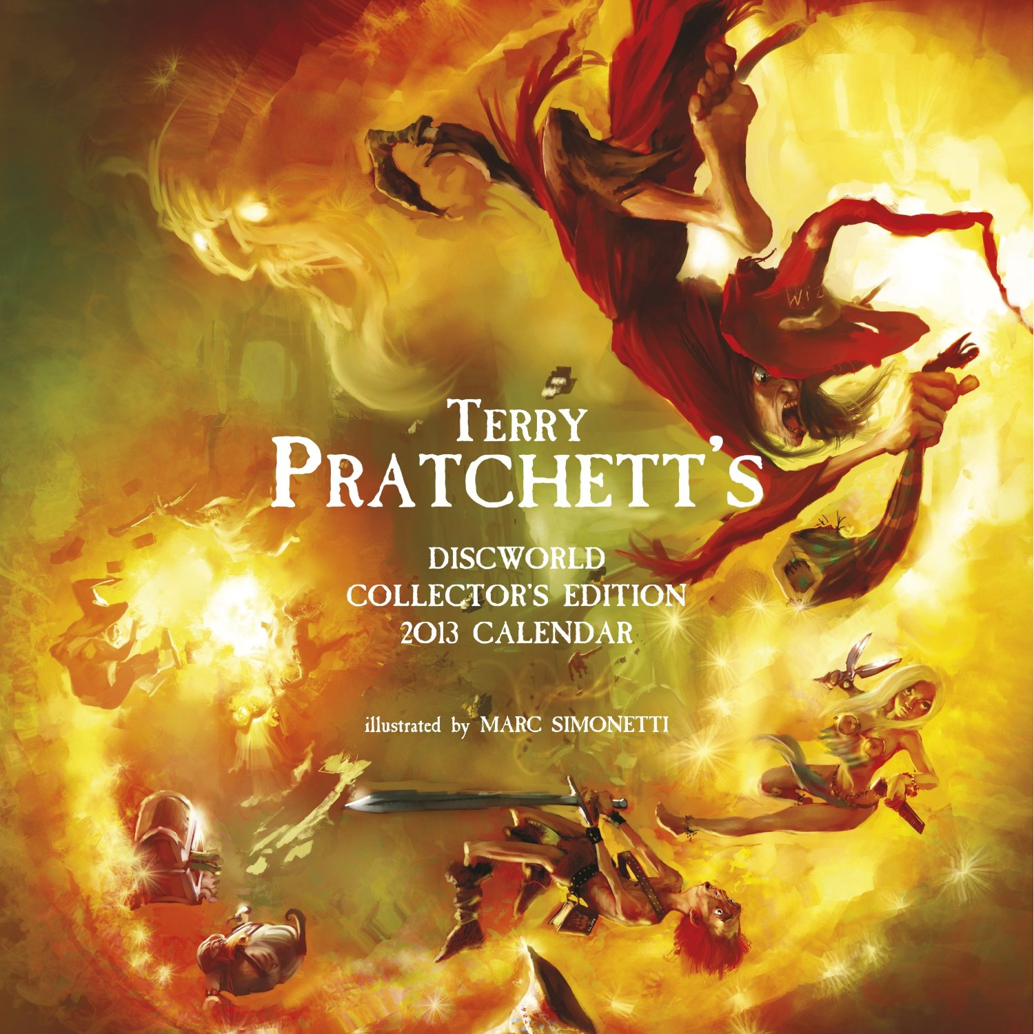 Terry Pratchett's Discworld Collectors' Edition Calendar 2013 by Terry Pratchett, ISBN: 9780575094413