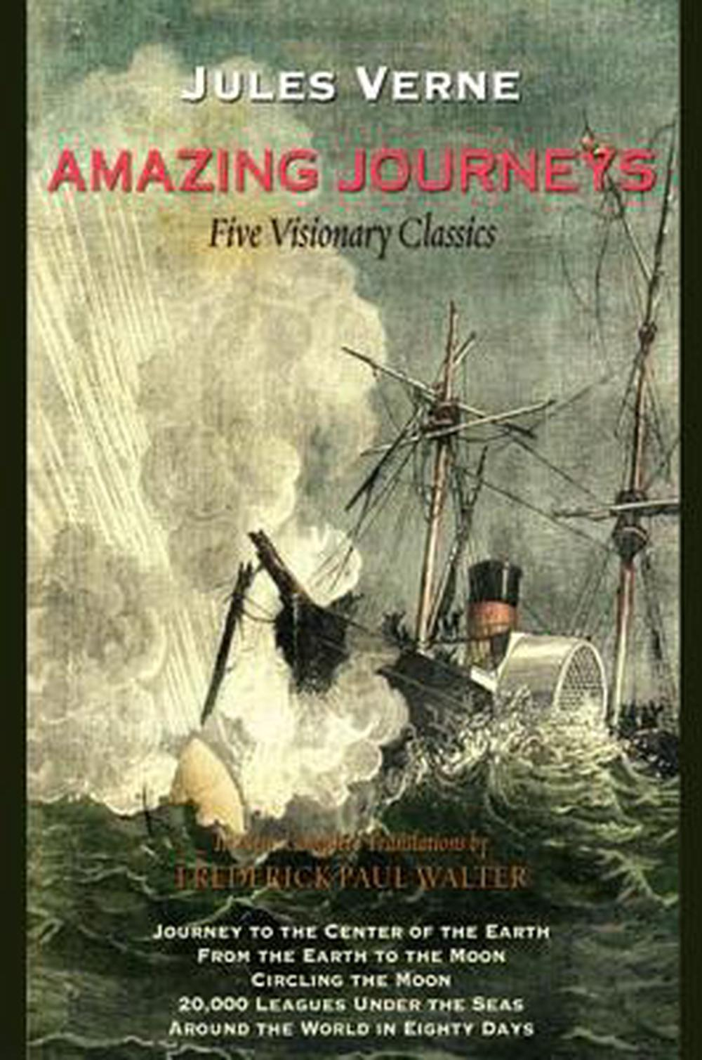 Amazing Journeys by Jules Verne, ISBN: 9781438432380