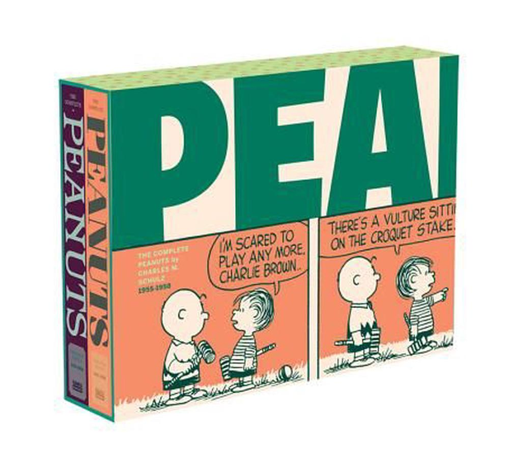 The Complete Peanuts 1955-1958 Gift Box Set Paperback EditionComplete Peanuts
