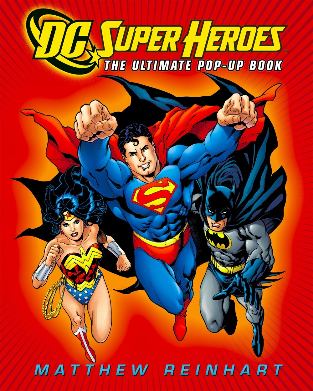 DC Super Heroes: The Ultimate Pop-Up Book by Matthew Reinhart, ISBN: 9780316019989