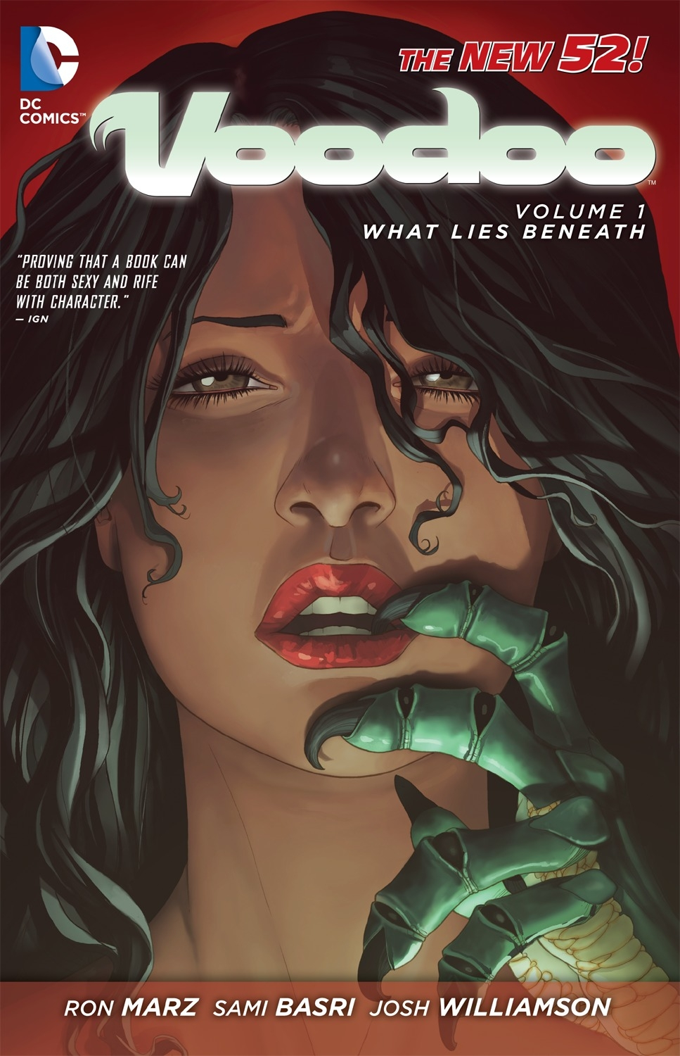 Voodoo Vol. 1: What Lies Beneath (The New 52)
