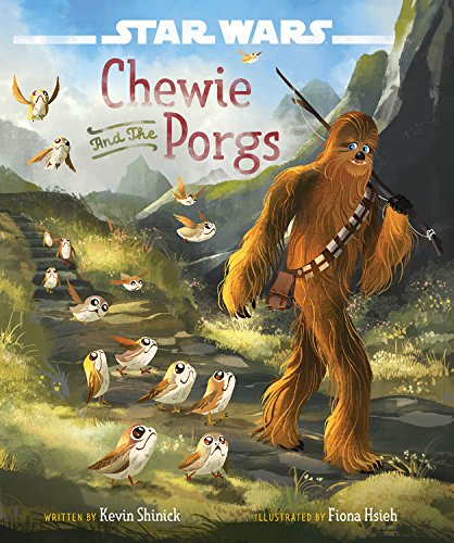 Star Wars: The Last Jedi Chewie and the Porgs