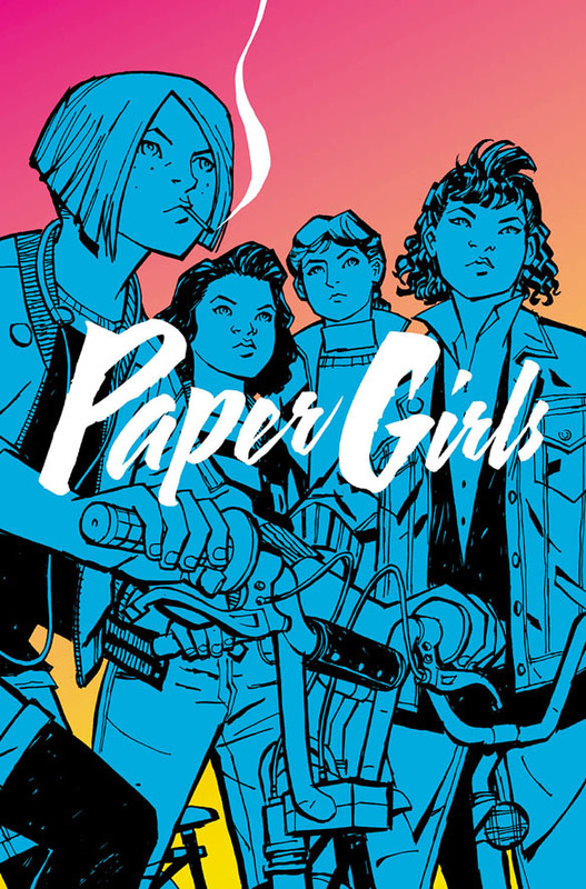 Paper Girls Volume 1 by Brian K. Vaughan, ISBN: 9781632156747