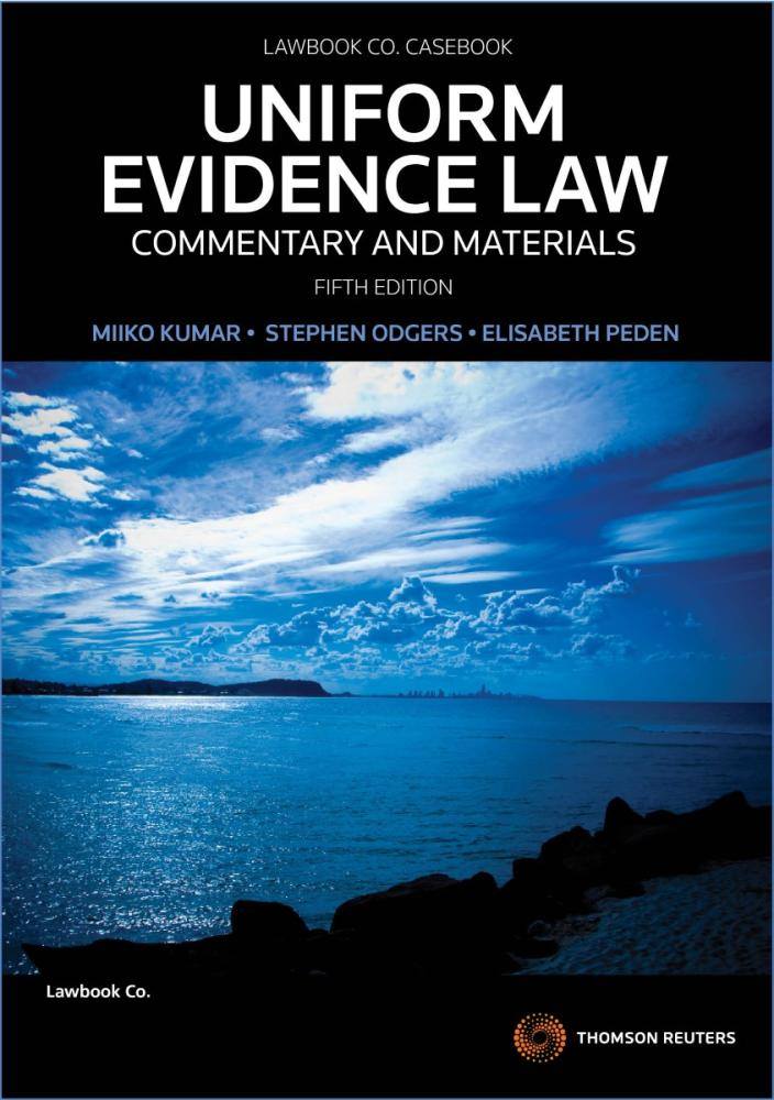 Uniform Evidence Commentary and Materials