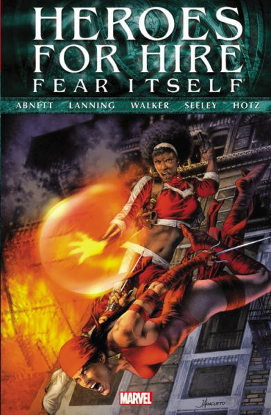 Fear Itself: Heroes For Hire by Dan Abnett, ISBN: 9780785155829